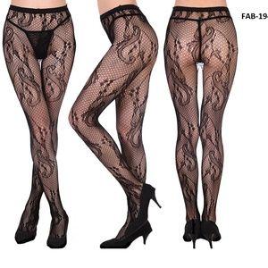 F & F  Fashionable Pantyhose Stockings (FAB-19415)